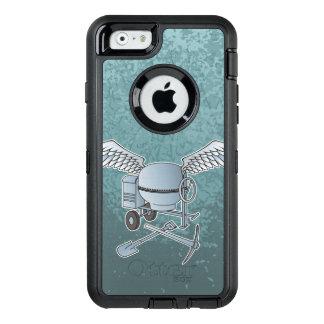 Concrete mixer blue-gray OtterBox iPhone 6/6s case