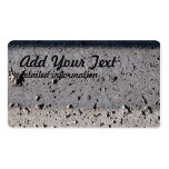 Concrete. Pack Of Standard Business Cards