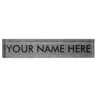 CONCRETE SLAB v.2 (architectural texture) ~ Nameplate