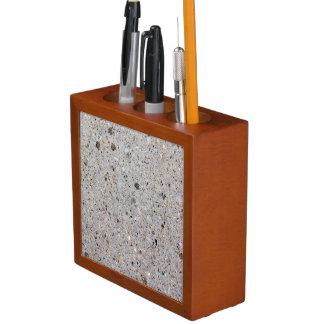 Concrete Surface Photo Desk Organiser