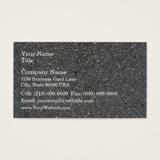 Concrete Texture with Small Stones Business Card