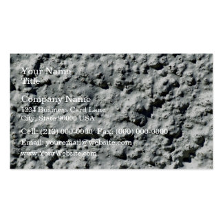Concrete wall with rough surface pack of standard business cards