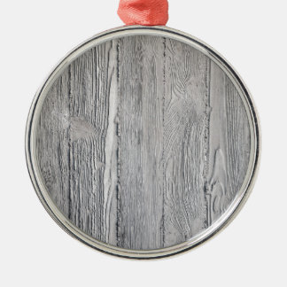Concrete Wood Metal Ornament