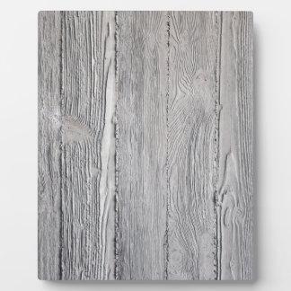 Concrete Wood Plaque