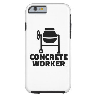 Concrete worker tough iPhone 6 case