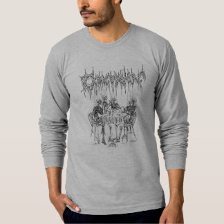 Concussion Smoking Skeletons T-Shirt