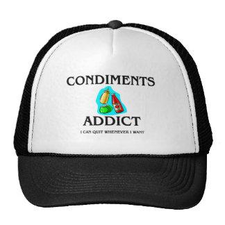 Condiments Addict Hats