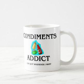 Condiments Addict Coffee Mugs