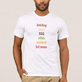 Condiments T-Shirt