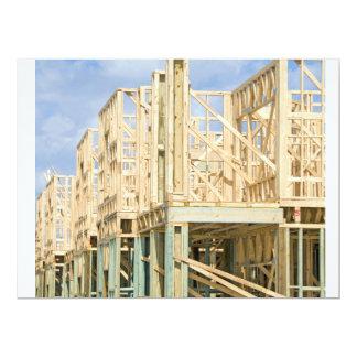 Condo Construction 17 Cm X 22 Cm Invitation Card