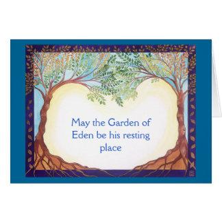 Condolence/Sympathy card for a man