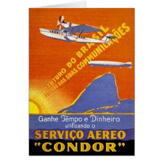 Condor ~ Brazillian Air Service Cards