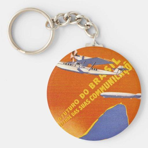 Condor ~ Brazillian Air Service Keychains