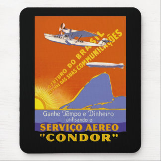 Condor ~ Brazillian Air Service Mouse Pad