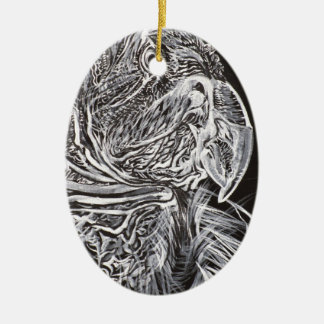 CONDOR is my name Ceramic Ornament