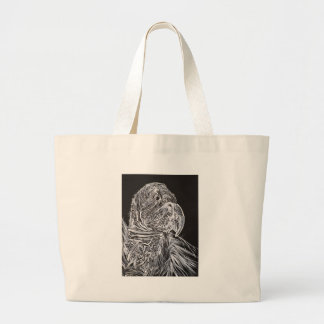 CONDOR is my name Large Tote Bag