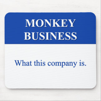 Conducting Monkey Business (2) Mousepad