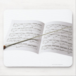 Conductor's Baton Mouse Pad