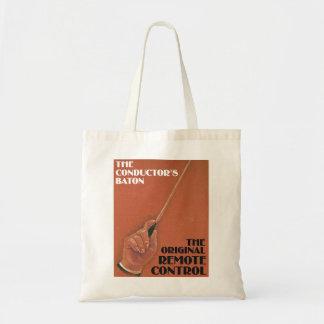 Conductor's Baton Tote Bag