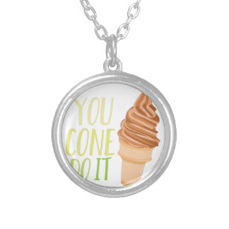 Cone Do It Silver Plated Necklace