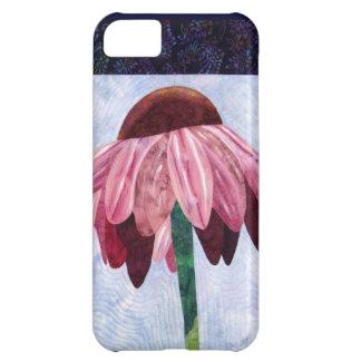 Cone Flower Art Quilt iPhone 5C Case