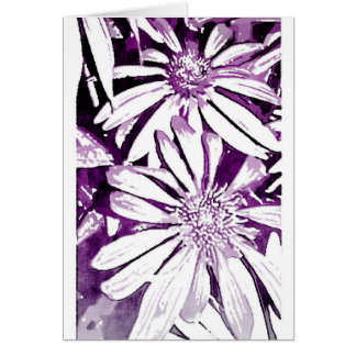 Cone Flower Note Card