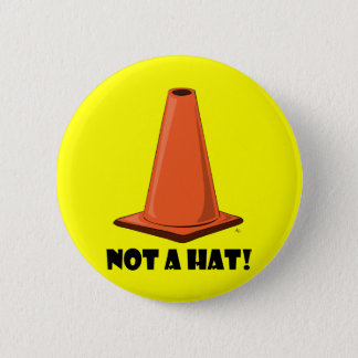 CONE HAT 2t 6 Cm Round Badge