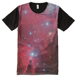 Cone Nebula All-Over Print T-Shirt
