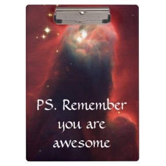 Cone Nebula in space - Jesus Clipboards
