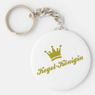 cone queen key ring