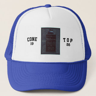 Cone Top-1935-Blue/Black Trucker Hat
