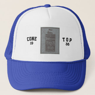 Cone Top-1935-Lite Blue Graphic Trucker Hat