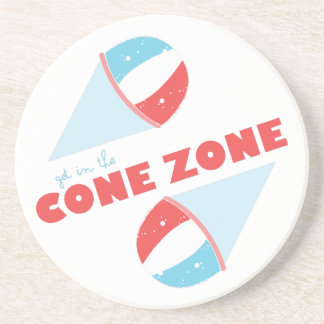 Cone Zone Beverage Coasters