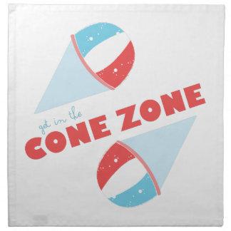 Cone Zone Napkin