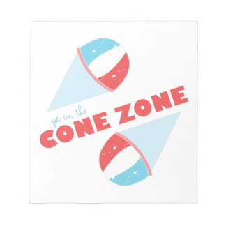 Cone Zone Notepad
