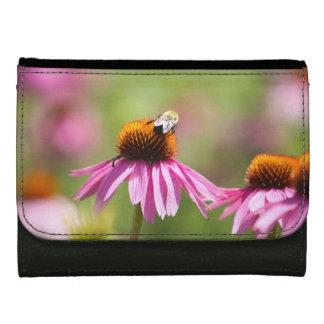 Coneflower and Honey Bee Wallet