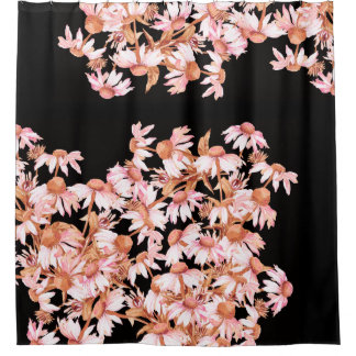 Coneflower Echinacea Flower Garden Shower Curtain