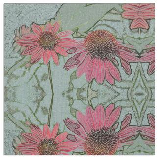 Coneflower kaleidoscope fabric