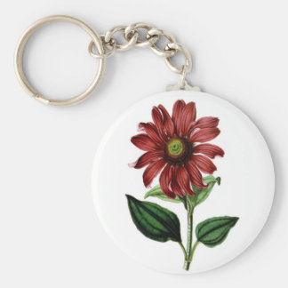 Coneflower Key Ring