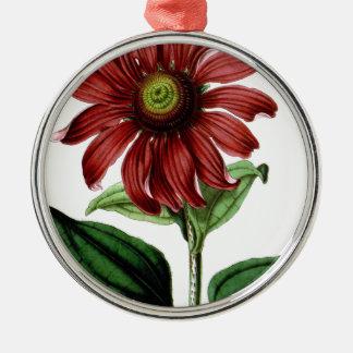 Coneflower Metal Ornament