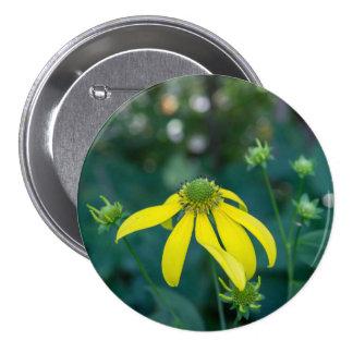 Coneflower Yellow Wildflower Button