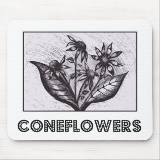 Coneflowers Mouse Pads