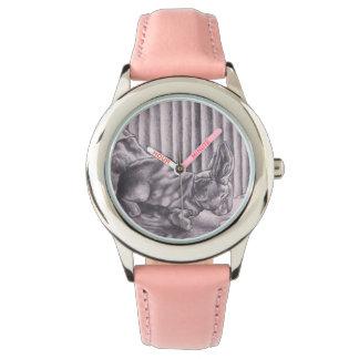conejo de terciopelo con tela suave watch