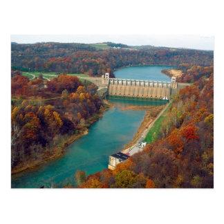 Conemaugh River Lake Dam Postcard