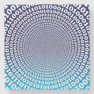 Conentric Binary Stone Coaster