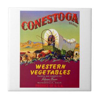 Conestoga Western Vegetables Tile