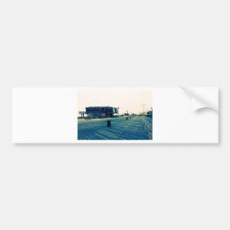 Coney Island Boardwalk Bumper Sticker