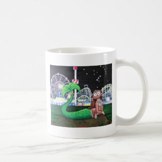 Coney Island Mermaid Coffee Mug