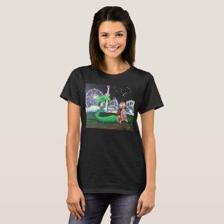 Coney Island Mermaid Ladies' Cut Dark Color T-Shirt