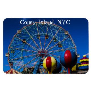 Coney Island New York City Photo Magnet